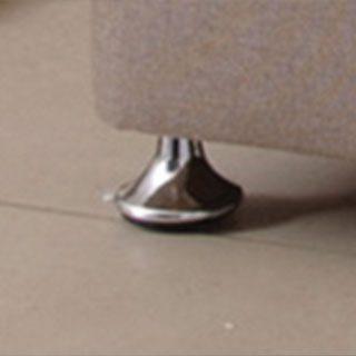 Chrome Feet at Bedframesdirect.