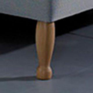Wooden Feet at Bedframesdirect.